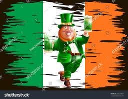 Color Of Irish Flag Flag Ireland St Patricks Day On Stock Vector 260234036 Shutterstock
