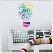 compare prices on office wallpapers online shopping buy low price craetive lamp wall sticker for living room office decoration self adhesive wallpaper decals perfect quality wall