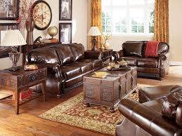 Brown Leather Couch Interior Design Ideas Marvellous Living Room Ideas Brown Sofa With Sofas Attractive