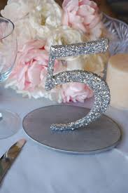silver wedding table numbers glitter wedding table numbers silver gold 1 10 2059337 weddbook
