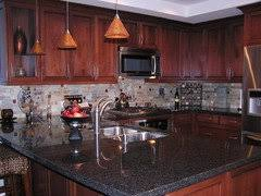 what color granite looks best with cherry cabinets cherry cabinets what color countertop