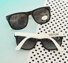 wedding sunglasses white black groom groomsman sunglasses bachelor sun
