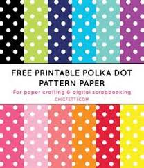 polka dot template free 28 images 5 best images of free
