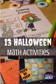 13 halloween math activities