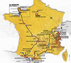 Montpellier France Map by The 2016 Tour De France Route Revealed