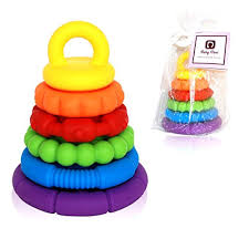 baby toy rings images Stacking toys 6 teething rings stackable for baby and toddlers mon jpg