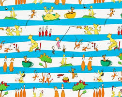 dr seuss assorted gift wrapping paper dr seuss fabric panel for quilting ten favorite book