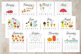 2017 desk calendar the little umbrella