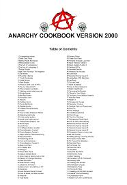 cookbook table of contents anarchist cookbook updated how to make a flour bomb maas magazine