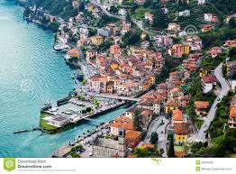 Lake Como Italy Map Town Of Argegno Lake Como Italy Stock Photo Image 44698582