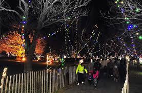 clasky common park christmas lights m new bedford pinterest