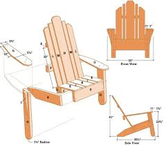 creative adirondack chair design ana white 2x4 plans for home
