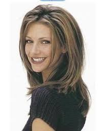 medium length hairstyles for women over 40 with bangs medium hairstyles for women over 40 with thick hair best