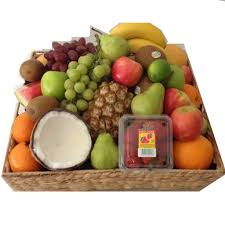 christmas fruit baskets all products christmas fruit basket gift baskets galore perth