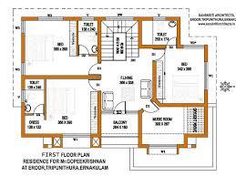 big floor plans kerala home plans fresh house estimate sq ft design big floor plan