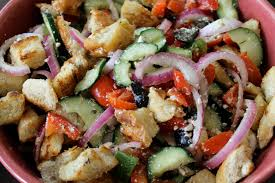 Ina Garten Greek Salad Greek Panzanella Salad Frugal Foodie Family Fabulous Chow