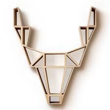 the deer wooden shelf by bedesign in our shop