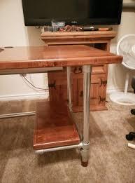 Diy Desk Pipe Custom Diy Industrial Pipe Desk For Gaming And Design Ricky