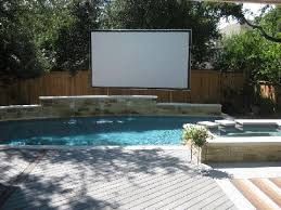 Backyard Movie Night Projector Ars Events Event Planning Variety Entertainment Tents Catering