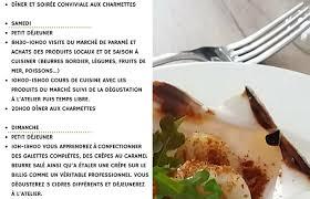 stages de cuisine stage de cuisine malo baie du mont michel