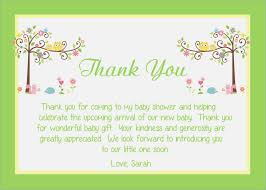 baby shower notes baby shower thank you notes fieldstation cairnstravel info
