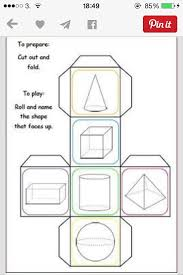 10 best geometry 3d shapes nets images on pinterest 3d