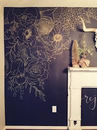 faux wallpaper gold paint marker mural paint markers markers
