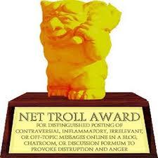 Internet Troll Meme - art sci what internet trolls look like
