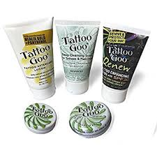 tattoo goo aftercare lotion review amazon com tattoo goo aftercare kit version xl new formula health