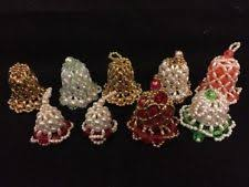 beaded christmas ornaments ebay