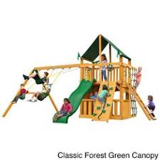 Sears Backyard Playsets Sears I Like That It U0027s Low 3 Swings Slide And Climbing Wall