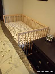 Cribs That Attach To Side Of Bed Crib Part 3 Turn A Crib Into A Side Car Co Sleeper