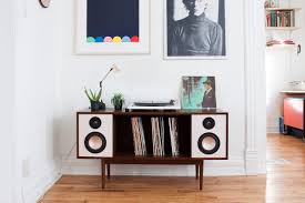 mid century hifi stereo console for modern time design milk