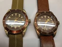 kw sales black bay bronze zf v2 alu bronze vs kw v2 normal bronze old