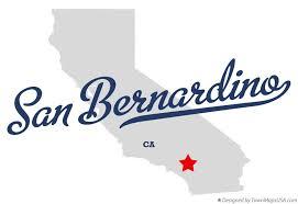 san bernardino ca map map of san bernardino ca california