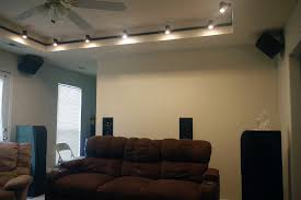 home theater in wall speakers couch against back wall rear speaker options avs forum home