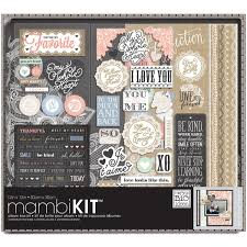 Big Photo Album Amazon Com Me U0026 My Big Ideas Lacey Charm Album Box Kit 12 Inch