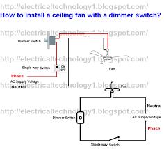 ceiling fan wiring diagram 1 switch wiring diagram