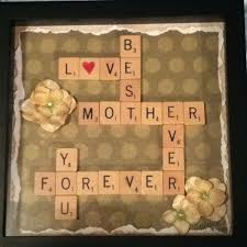 scrabble letters make a great mother u0027s day gift you can also do