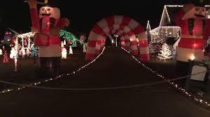Christmas Tree Raleigh Happyland Christmas Lights Raleigh Nc Youtube