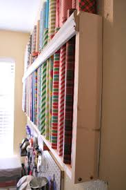 wrapping station ideas and wisor how to store wrapping paper