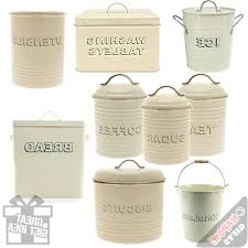 ceramic kitchen canisters galvanized farmhouse style plus