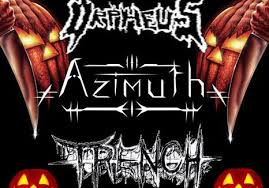 Metal Halloween Costumes Metal Monday Halloween Costume Party Orpheus Azimuth Trench