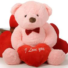 valentines day teddy 48in s day teddy bears i you heart