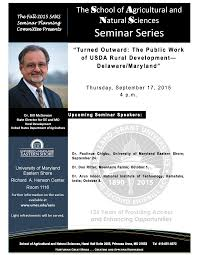 seminar series v university of maryland eastern shore