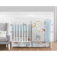 Jojo Crib Bedding Sweet Jojo Designs Woodland Toile Collection 9 Crib Bedding