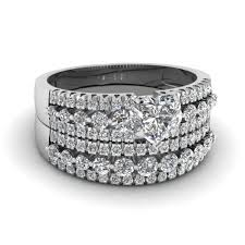 diamond wedding ring sets bridal sets buy custom designed wedding ring sets fascinating