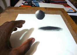draw a d floating ball yourhyoucom drawing best photos of cool drawings on paper rhdrawingcollectioncom easy 3d