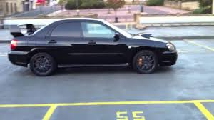 subaru impreza black 2005 subaru impreza wrx sti for sale youtube