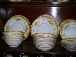 Vintage China Patterns by Noritake 1930s Vintage 53 Piece China Set Mom U0027s Emporium